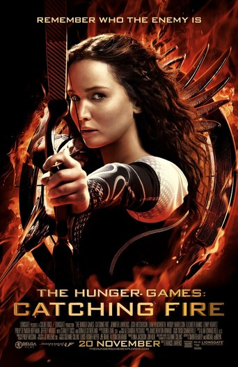 "Affiche du film ""Hunger Games : L'Embrasement"""