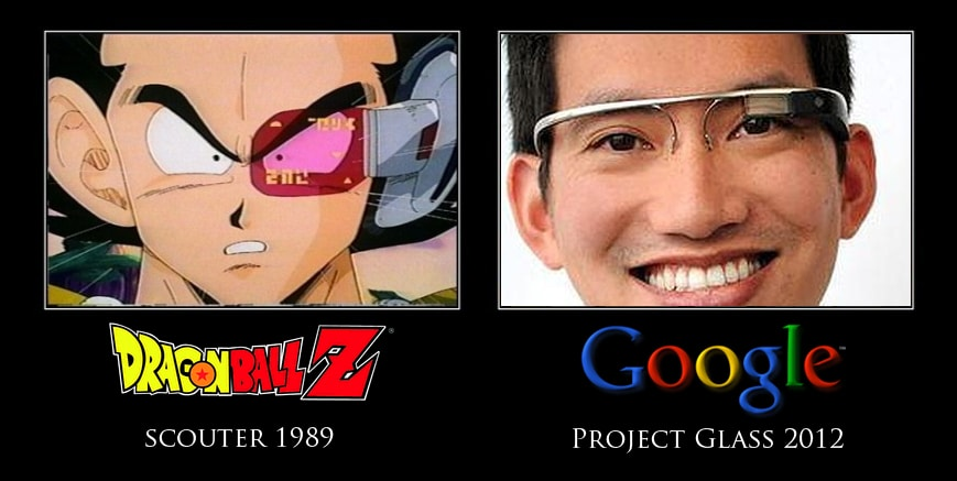 dragon ball vs google glass