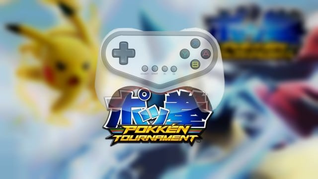 New controller nintendo for Pokken Tournament WiiU