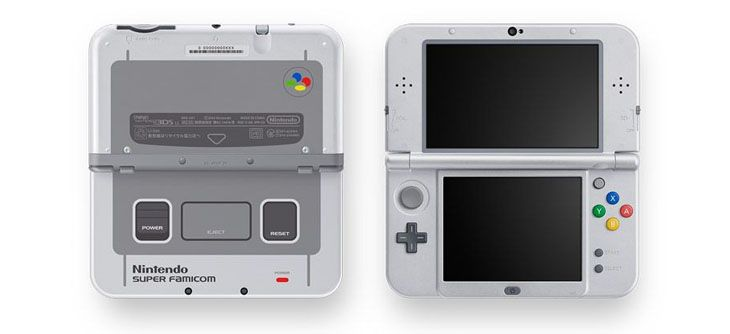 new 3ds super famicom snes japon