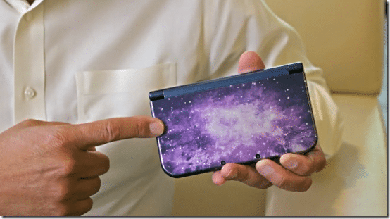 3DS XL Galaxy by Reggie Fils Aimé