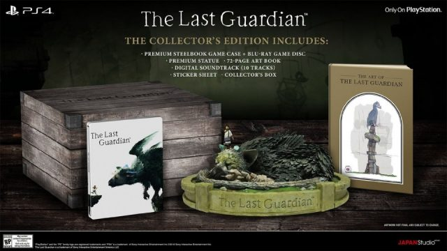 the last guardian coffret collector
